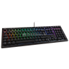 Ducky Shine 6 PBT Gaming Tastatur, MX-Black, RGB LED - schwarz