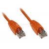 InLine 0,3m Patchkabel 1000 Mbit RJ45 - orange
