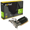 ZOTAC GeForce GT 710, 2048 MB DDR3 - Single Slot, Passiv