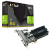 ZOTAC GeForce GT 710, 1024 MB DDR3, PCIe x1, Passiv, Low Profile