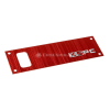 XSPC Single Bayres Faceplate - rot