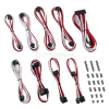 CableMod Classic ModMesh RT-Series Cable Kit ASUS ROG / Seasonic - weiß/rot