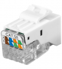 KeyStone Jack Cat. 5e RJ45, toolless, UTP, SNAP-IN, Good Connections®