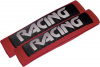 Eufab Gurtpolster Racing red 28208 22mm x 7cm x 3cm