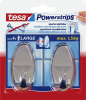 TESA Powerstrips® Haken Large oval Chrom 58050-00012 Inhalt: 2St.