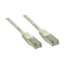 Good Connections Patch Netzwerkkabel RJ45 CAT6 250MHz 1m grau
