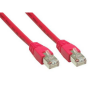 Good Connections Patch Netzwerkkabel RJ45 CAT6 250MHz 2m rot