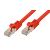 Good Connections Patchkabel mit Cat. 7 Rohkabel S/FTP rot 20m