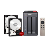 QNAP TS-251+ NAS System (2GB RAM) 8TB inkl. 2x 4TB WD RED WD40EFRX
