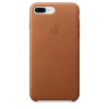 Apple Original iPhone 8 / 7 Plus Leder Case-Sattelbraun