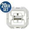 HomeMatic 103097A1 Adapter-Set düwi/ Popp (D) 20 Stk.