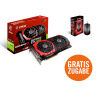 !! GRATIS MSI Gaming Maus GM40 + MSI GeForce GTX 1060 Gaming X 6G Grafikkarte