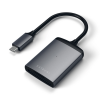 Satechi USB-C UHS-II Micro/SD Card Reader Space Gray