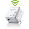 devolo dLAN 500 WiFi (500Mbit, Powerline, 1xLAN, WLAN Repeater, Slim-Design)