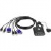 ATEN CS22U-AT 2 Port KVM-Umschalter VGA USB 2048 x 1536 Pixel
