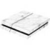 Software Pyramide Skin für PS4 Konsole White Marble Cover PS4