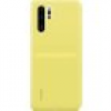 HUAWEI Silicone Case Backcover P30 Pro Gelb