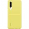 HUAWEI Silicone Car Case Backcover P30 Gelb