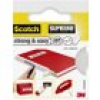 3M Strong & Easy 4105W38 Gewebeklebeband Scotch® Weiß (L x B) 3m x 38mm 3m