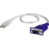 ATEN VGA / USB Adapter [1x VGA-Stecker - 1x USB 2.0 Stecker A] Transparent 0.35m