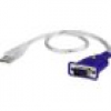 ATEN VGA / USB Adapter [1x VGA-Stecker - 1x USB 2.0 Stecker A] Transparent