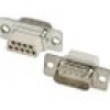 MH Connectors MHDBC25SP-NW D-SUB Stiftleiste 180° Polzahl: 25 Crimpen