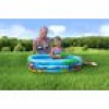 Splash & Fun Kindersurfer Beach Fun + Sichtfenster Luftmatratze