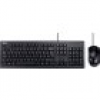 Asus U2000 USB Tastatur, Maus-Set Deutsch, QWERTZ, Windows® Schwarz