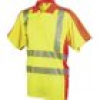 L+D ELDEE 4720-S Polo-Shirt YO-HiViz Größe=S Gelb, Orange