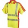 L+D ELDEE 4720-M Polo-Shirt YO-HiViz Größe=M Gelb, Orange