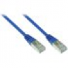 Good Connections Patch Netzwerkkabel RJ45 SF/UTP CAT5e 0,5m blau 855B-005
