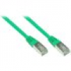Good Connections Patch Netzwerkkabel RJ45 SF/UTP CAT5e 0,25m grün 855G-003