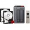 QNAP TS-251+ NAS System (8GB RAM) 6TB inkl. 2x 3TB WD RED WD30EFRX