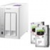 QNAP TS-231P NAS System 2-Bay 4TB inkl. 2x 2TB Seagate ST2000VN004