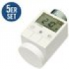HomeMatic 5er Set 105155 HM-CC-RT-DN Funk-Heizkörperthermostat