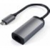 Satechi USB-C auf Ethernet Adapter Space Gray