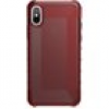 UAG Urban Armor Gear Plyo Case für Apple iPhone X rot transparent