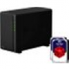 Synology Diskstation DS218play NAS 2-Bay 8TB inkl. 2x 4TB WD RED WD40EFRX