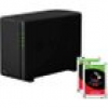Synology DS218play NAS System 2-Bay 6TB inkl. 2x 3TB Seagate ST3000VN007