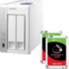QNAP TS-231P NAS System 2-Bay 12TB inkl. 2x 6TB Seagate ST6000VN0033