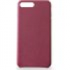 KMP Leder Case für iPhone 8 Plus, bordeaux rot