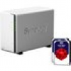 Synology Diskstation DS218j NAS 2-Bay 20TB inkl. 2x 10TB WD RED WD100EFAX