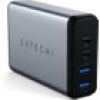 Satechi 75W Dual USB-C PD Travel Charger Space Grey