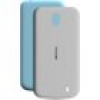Nokia 1 - X-Press On Cover (Dual Pack) XP-150, Azure & Gray