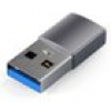 Satechi USB Type-A zu Type-C-Adapter Space Gray