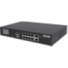 Intellinet 8-Port Gigabit Ethernet PoE+ Switch mit 2 RJ45-Uplink-Ports