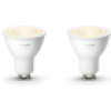 Philips Hue White GU10 LED Lampe Doppelpack 2x 5,2 W Bluetooth