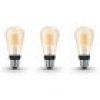 Philips Hue White E27 Filament ST64 LED Lampe 7 W Bluetooth 3er Set