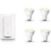 Philips Hue White GU10 LED Lampe 4er-Pack inkl. Dimmschalter