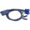 Aten CS62US 2fach KVM Switch VGA/USB2.0/Audio